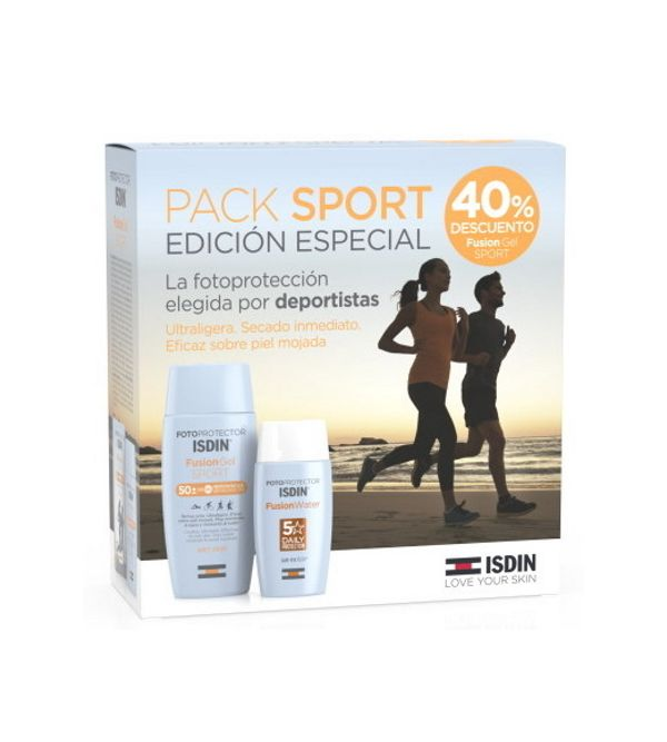 Pack Fotoprotector Fusion Gel Sport + Fusion Water SPF 50 + | 150 ml