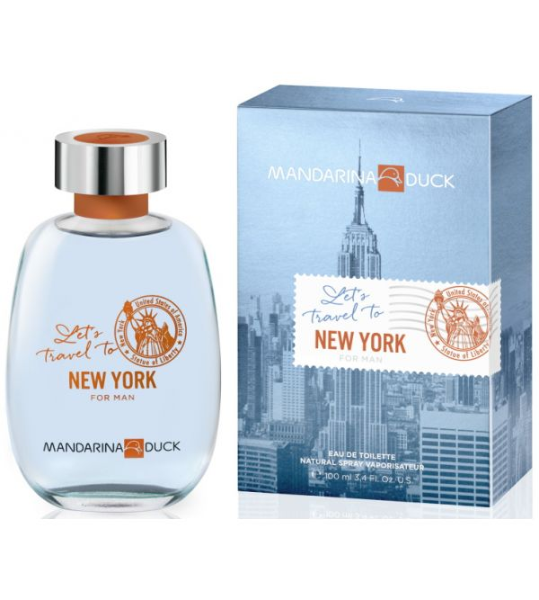 Lets Travel To NY Man 100 ml