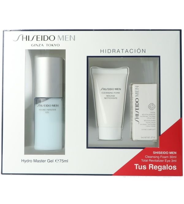 Set Shiseido Men Hydro Master Gel 75 ml