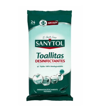 Toallitas Desinfectantes | 24 uds