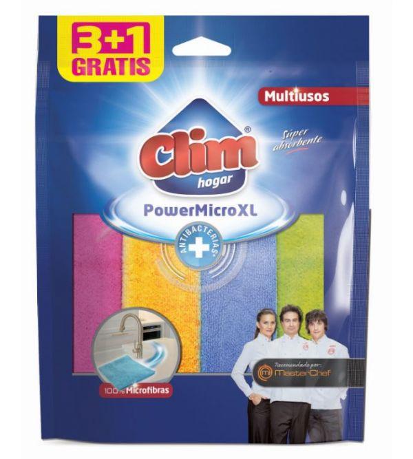 Power XL 100% Microfibra 3+1 Antibacterias