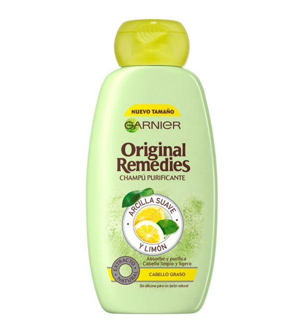 Champú Purificante Arcilla Suave y Limón | 300 ml