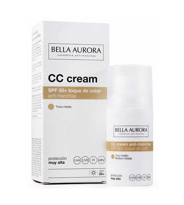 CC Cream Anti-Manchas Tono Medio SPF50+ | 30 ml