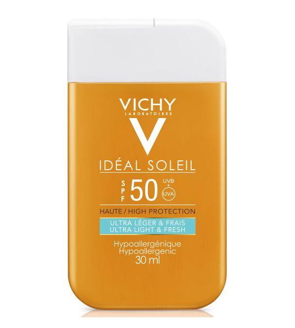 Ideal Soleil Hipoalergénico Ultra Ligero SPF 50 | 30 ml