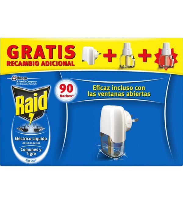 Eléctrico Líquido Anti-Mosquitos común y Tigre + 2 recambios