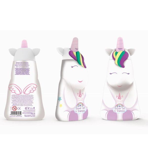 Champú-Gel Figura Eau My Unicorn 400ml