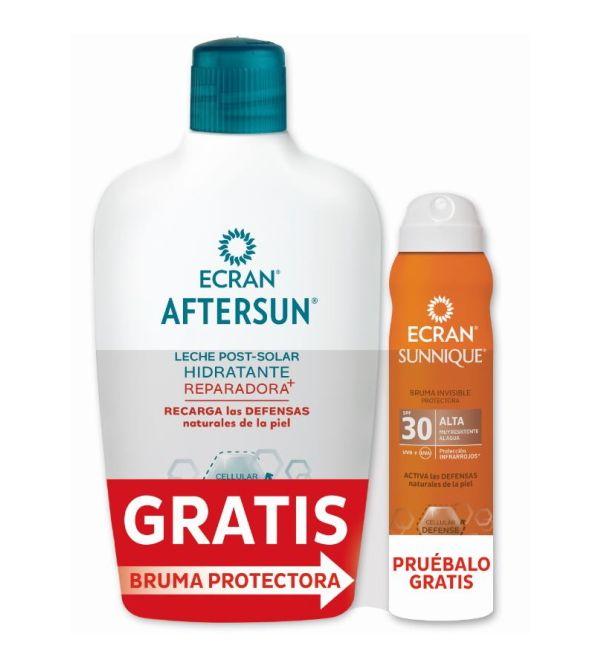 Pack Aftersun + Sunnique Bruma Solar SPF 30 | 400 ml