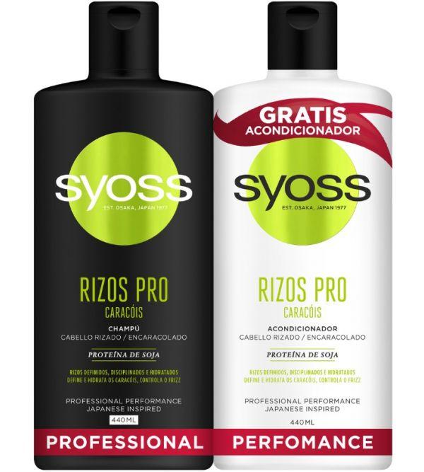 Pack Syoss Rizos Pro Champú y Acondicionador | 1 uds