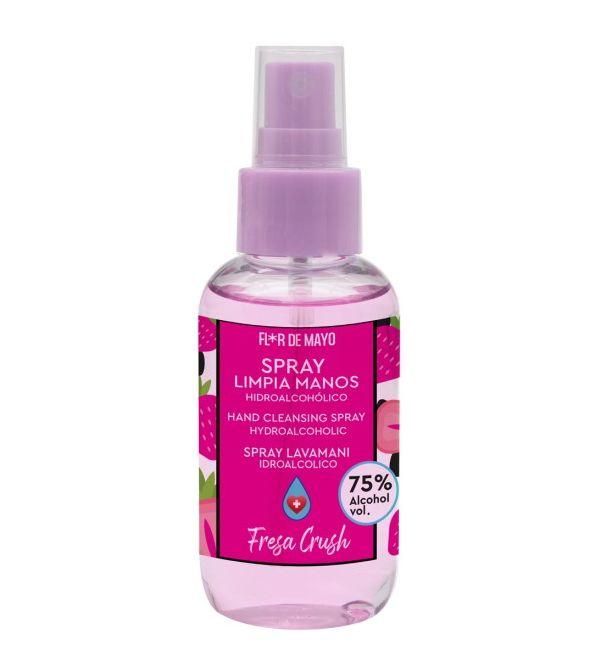 Spray Hidroalcohólico Limpiamanos Fresa   100 ml