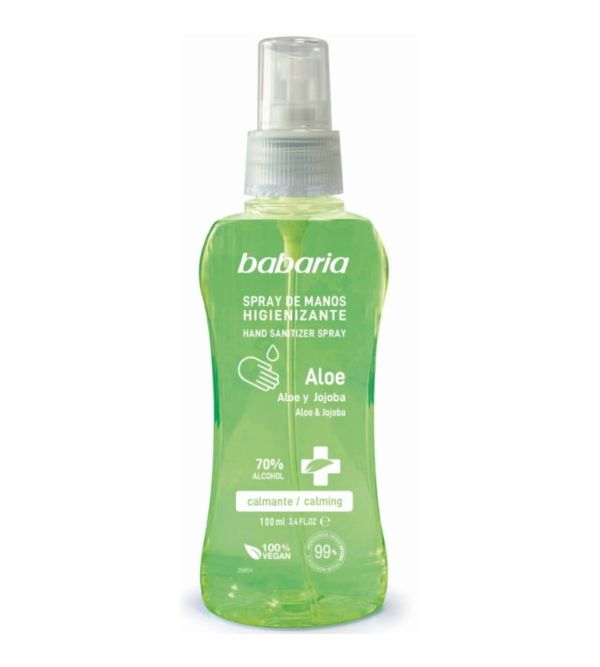 Spray de Manos Higienizante Aloe 100 ml