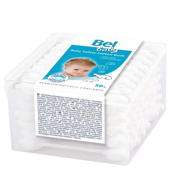 Baby Bastoncillos de Seguridad de Papel 56 uds
