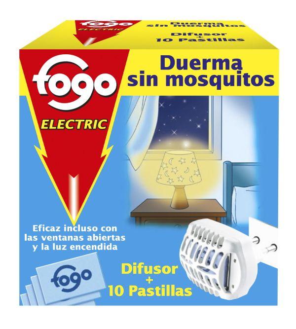 Electric Duerma Sin Mosquitos Aparato + 10 Pastillas