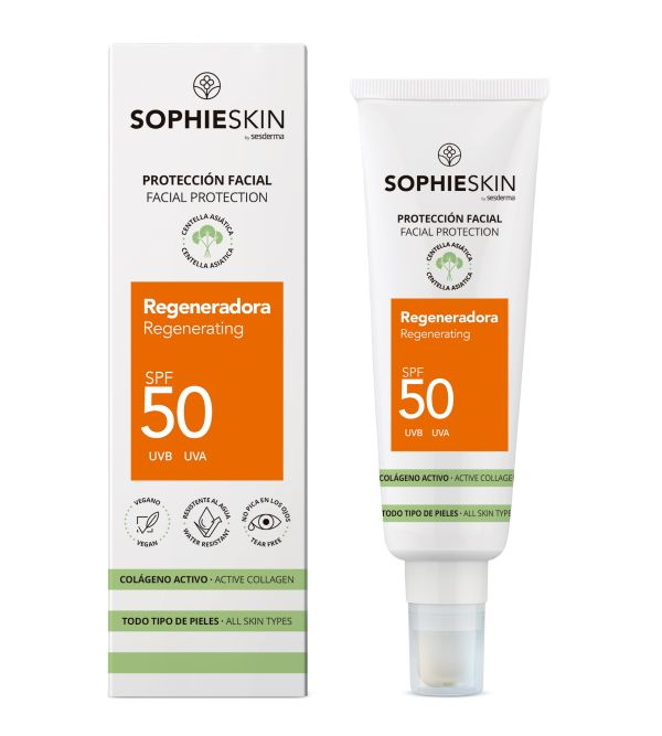 Protección Facial Regeneradora SPF 50