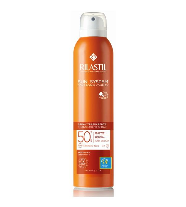 Sun System Spray Transparente SPF50+   200 ml