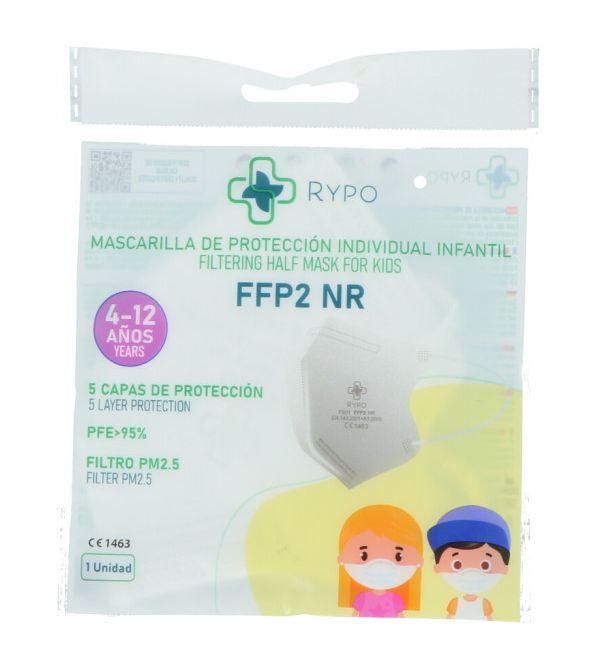 Mascarillas FFP2 Blanca Niños   1 uds