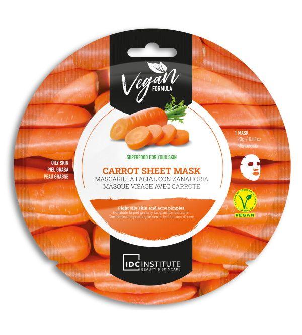 Vegan Mascarilla Facial con Zanahoria   23 gr