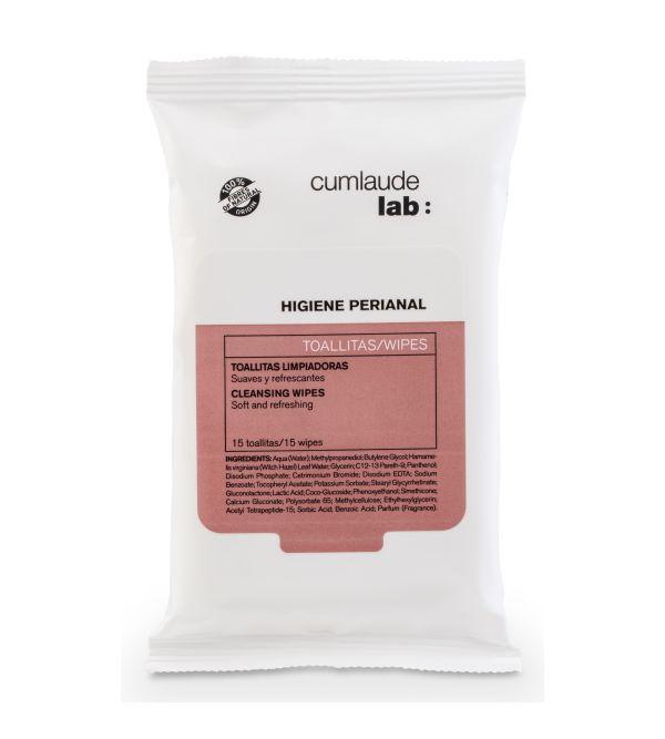 Higiene Perianal Toallitas Limpiadoras | 15 uds