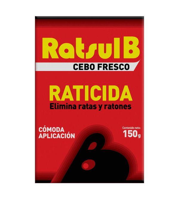 B Cebo Fresco Raticida   150 gr