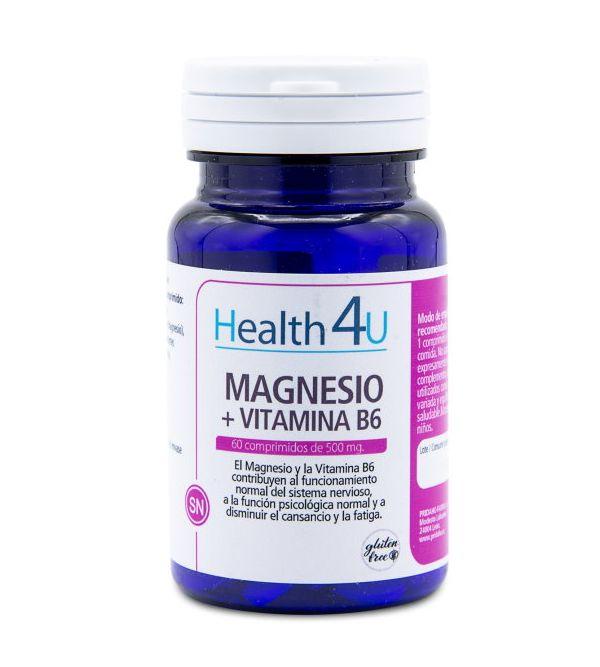 Magnesio + Vitamina B6 Comprimidos | 60 uds