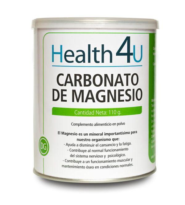 Carbonato De Magnesio En Polvo | 110 gr